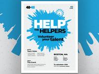 2018 48in48 Volunteer Recruit Poster