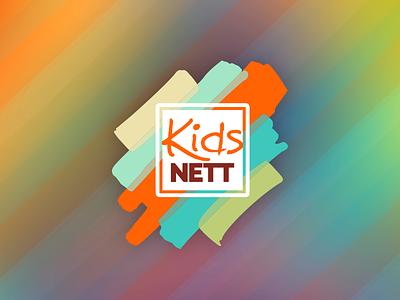 KidsNETT Logo strong community progress youth nonprofit church id brand logo
