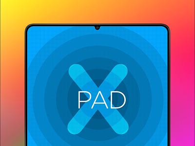 iPad X mockup product notch ipad x