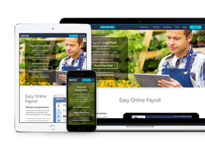 Financial management product landing page cta landing page ux ui layout responsive web
