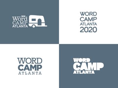 2020 WordCamp Atlanta Logotype Concepts