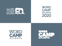 2020 WordCamp Atlanta Logotype Concepts
