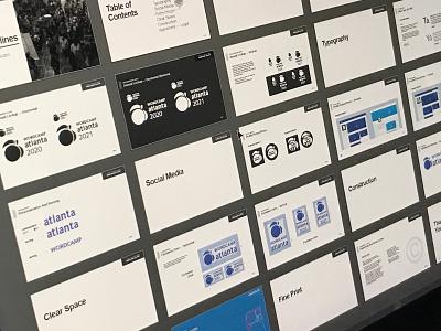 Logo Guidelines wod adobe illustrator brand identity peach branding brand specifications logo guidelines 2021 2020 wordcamp wordpress
