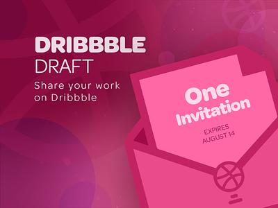 Dribbble Draft Invitation (Email Update!) invitation invite