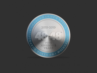 2019 48in48 Coin Five Years
