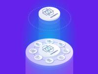 Illustration Isometric - Payments Platform