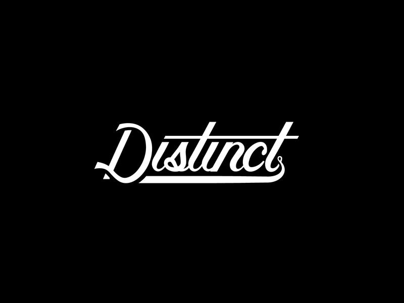 Distinct Script Lettering vector script lettering typography type