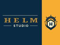 Helm Studio Logo Concept