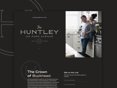 The Huntley Splash Page