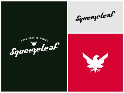 Squeezeleaf identity logo