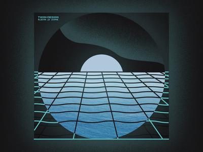Zone Playlist Artwork waves ocean horizon cover album album cover music spotify playlist