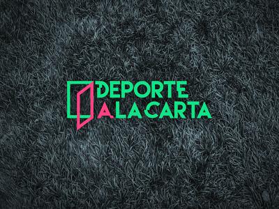 Branding for a Sport Tv Show - Deporte  La Carta brand identity brand design sports design sports branding sports logo tv shows tv show