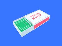 tennis match(es)