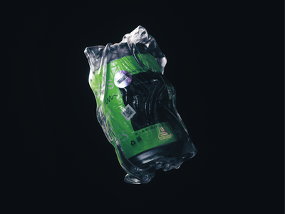 Reduce Your Use pt. 2 3d art 3d xparticles cinema4d packaging pack design water can drink waste plastic reduce