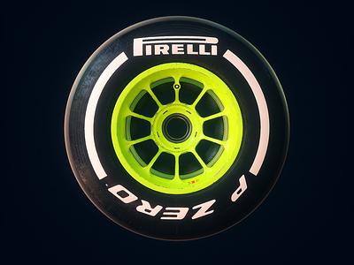 Pirelli Spin octane spin textures animation 3d tire motorspot car livery design f12019 f1 formula 1