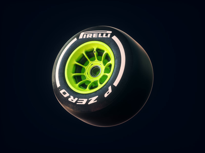 Pirelli Spin octane spin textures animation 3d tire motorspot car livery design f12019 f1 formula 1