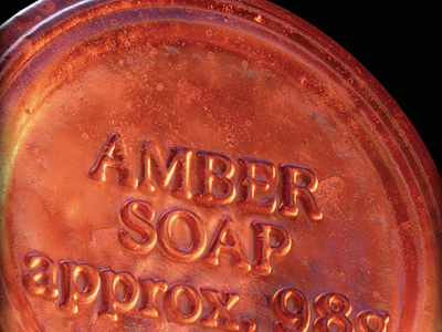 Soap Measures texture shop substance octane 3d orange branding realism photography product packaging cosmetic soap