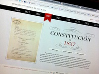 Spanish Constitution Website