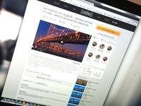 Landing video page