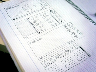 Proposals video interactive sketch wireframing video interactive tag