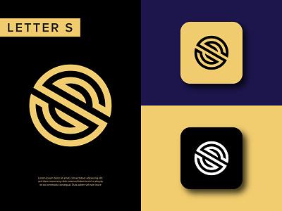 Letter S logo mark   monogram logo design america malaysia usa logomark canada branding belgium australia letter mark logo monoline icon app monogram logo monogram s letter logo s logo mark s logo letters s