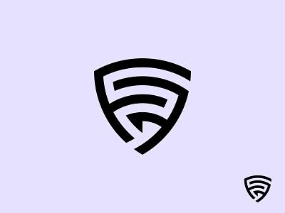 FF or FSF Shield Logo logotype minimal fsf shield logo fsf monogram ff monogram ff shield logo ff monogram logo shield logo design lettermark logo designer designer logo design branding fsf shield geometric