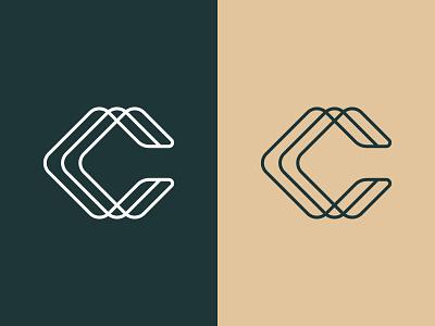 Letter C Logo Mark icon monoline c logo c logo mark letter c logo typography identity branding symbol mark logo logotype