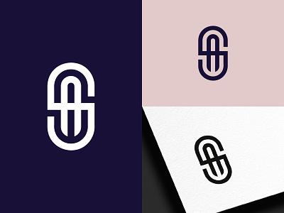 SA Initial Logo monogram brand design sa initial logo initial logo as logo as monogram as sa logo sa monogram sa icon design mark logotype logo design typography logo branding