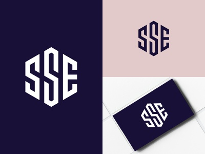 SSE Monogram graphic creative identity design typography lettermark letter logo brand design branding logo designer logo design logo sse monogram sse logo sse