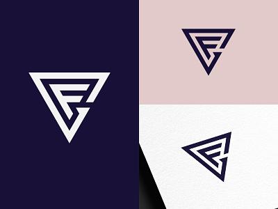 GF / FG Monogram Logo initial logo logo logo design identity design brand design branding icon flat minimal clean monoline monogram monogram logo fg monogram fg logo fg gf monogram gf logo