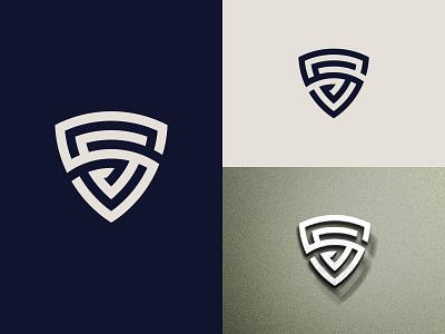 SS Shield Logo brand design security minimal logotype logo design typography logo branding ss shield logo shield logo shield monogram ss monogram letter ss logo ss logo ss letter s logo s logo s
