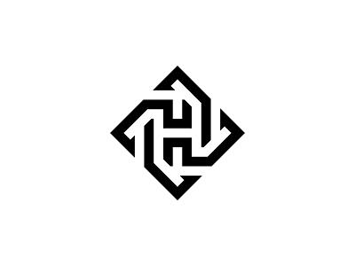 Letter H Cycles Logo h mark modern movement cycles revolve spin rotation symbol lettermark vector minimal logotype identity typography logo monogram branding
