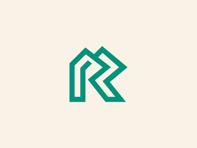 Letter R or RR Logo logos lettermark letter r logo modern r logo r rr logo rr monogram rr icon app web illustration design logotype identity logo design typography logo monogram branding