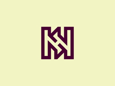 HH Monogram Logo lettermark logosell concept creative vector initials simple modern logos hh logo hh illustration design logotype identity logo design typography monogram logo branding