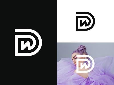 DW Logo or WD Logo iconic creative wd monogram logo wd logo wd dw monogram dw logo dw simple modern logos illustration design logotype identity logo design typography logo monogram branding