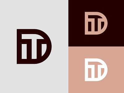 DT Logo or TD Logo logos td monogram td logo td dt monogram dt logo dt graphic design 3d animation ui illustration design logotype identity logo design typography monogram logo branding