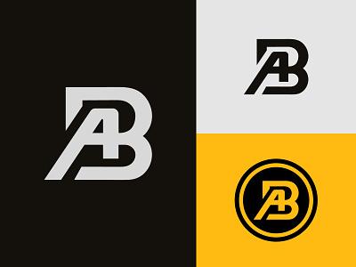 AB Logo or BA Logo business logos ab logo ba ba monogram ba logo ab ab monogram graphic design 3d ui illustration design logotype identity logo design typography monogram logo branding