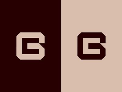GC Logo or CG Logo negative space fashion logo education logo personal logo cg monogram cg logo cg gc monogram gc logo gc graphic design illustration design logotype identity logo design typography monogram logo branding