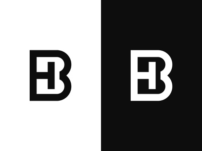 BH Logo or HB Logo fashion logo sports logo modern logo logos hb monogram hb logo hb bh monogram bh logo bh graphic design illustration design logotype identity logo design typography monogram logo branding