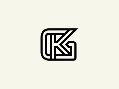 KG Logo or GK Logo monogram logo construction logo sports logo logos gk monogram gk logo gk kg monogram kg logo kg graphic design illustration design logotype identity logo design typography monogram logo branding
