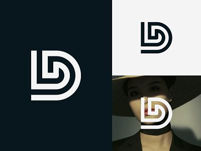 LD Logo or DL Logo letter logo minimalist logo fashion logo modern logo logos ld logo ld monogram ld dl dl monogram dl logo illustration design logotype identity logo design typography monogram logo branding