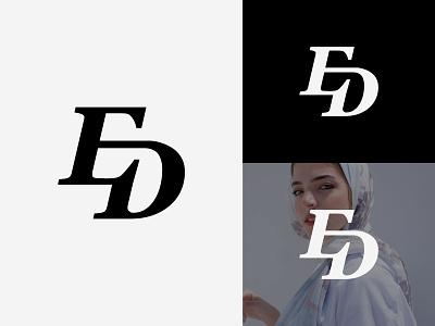 ED Logo or DE Logo apparel logo elegant fashion logo luxury letter logo fashion logo luxury monogram logo de de monogram de logo ed ed monogram ed logo design illustration logotype identity logo design typography monogram logo branding