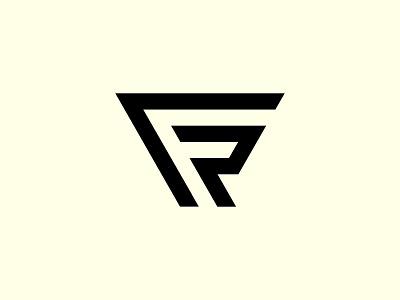 FR Logo modern logo minimalist triangle logo fashion logo monograms creative monogram logo sports monogram fr monogram fr logo fr graphic design illustration design logotype identity logo design typography monogram logo branding