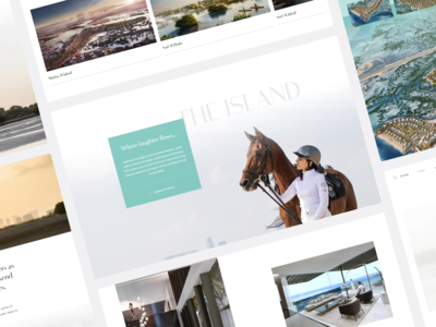 Style guide - Jubail Island jubail island design system style guide user interface user experience minimal design web ux ui