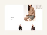 Morii Wear Website - Products