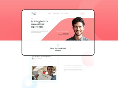Lemlist Product Page - Video [Desktop]