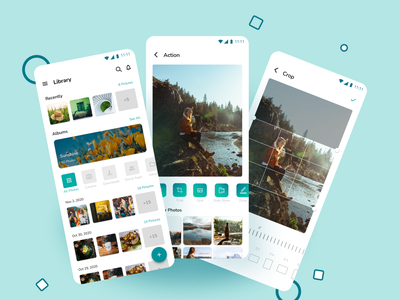 Photo Editing App Concept uiux green photography photoediting editor photo ui mobile ui