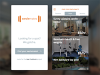 Swolemates - Airbnb for home fitness