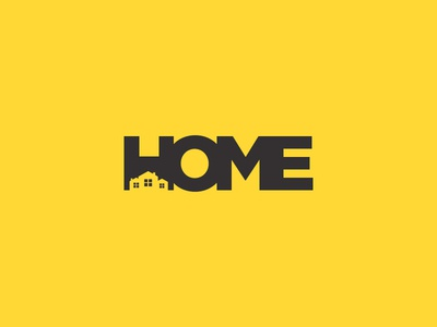 Home Negative Space Logo