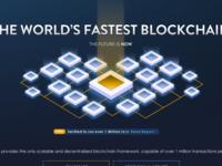 Blockchain Homepage Illustration